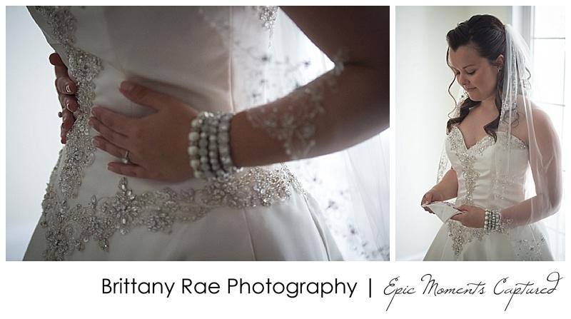Old Orchard Beach Wedding - Wedding Dress Details
