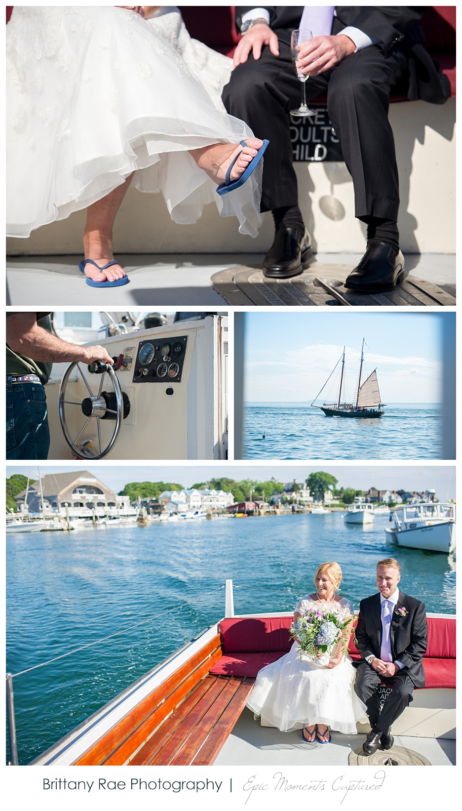Nonantum Wedding Kennebunkport Maine - Rugosa Wedding Day Cruise
