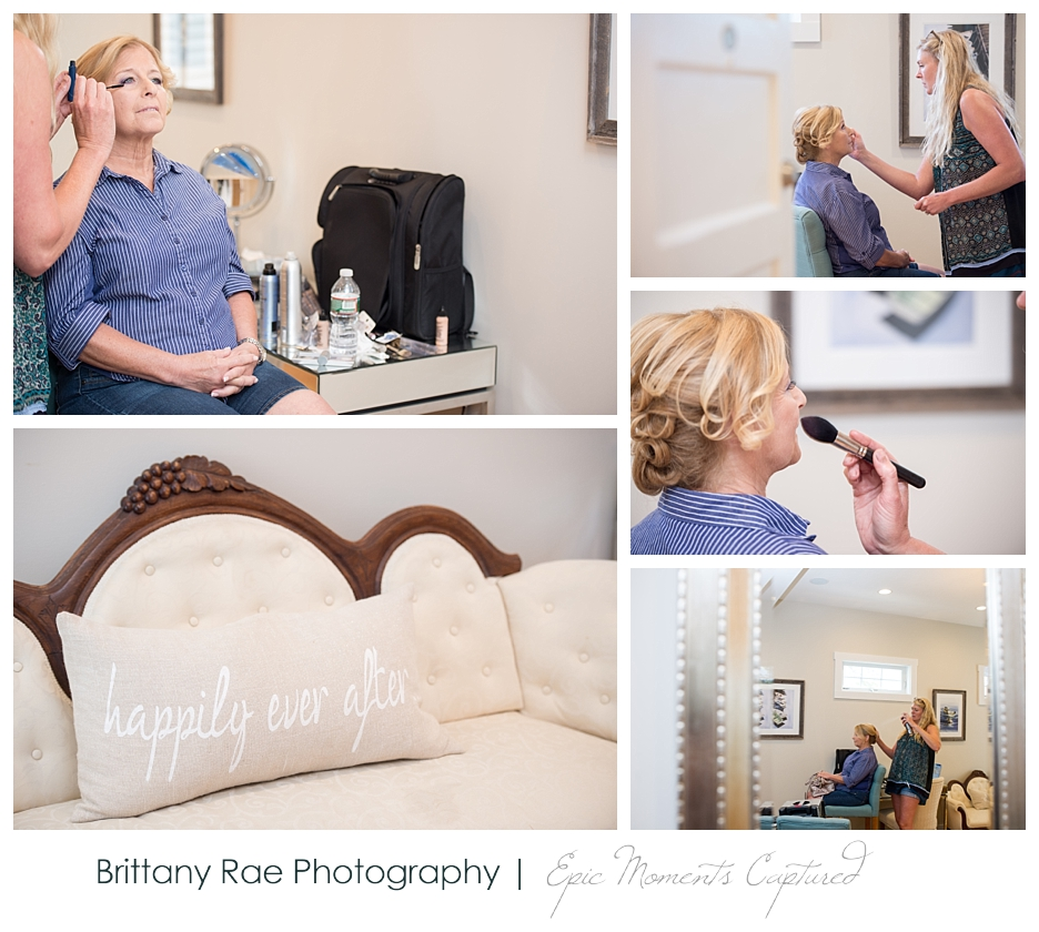 Nonantum Wedding Kennebunkport Maine - Salon Loka Bridal Hair and Make Up