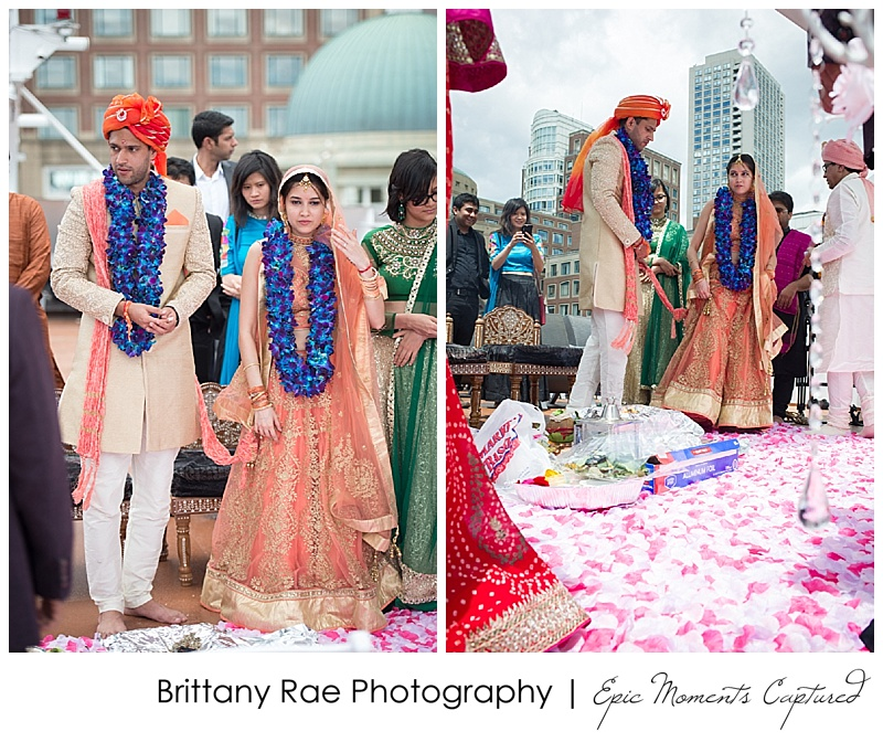 Hindu Wedding on Odyssey in Boston -