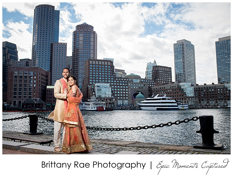 Hindu Wedding on Odyssey in Boston - Boston Skyline Wedding