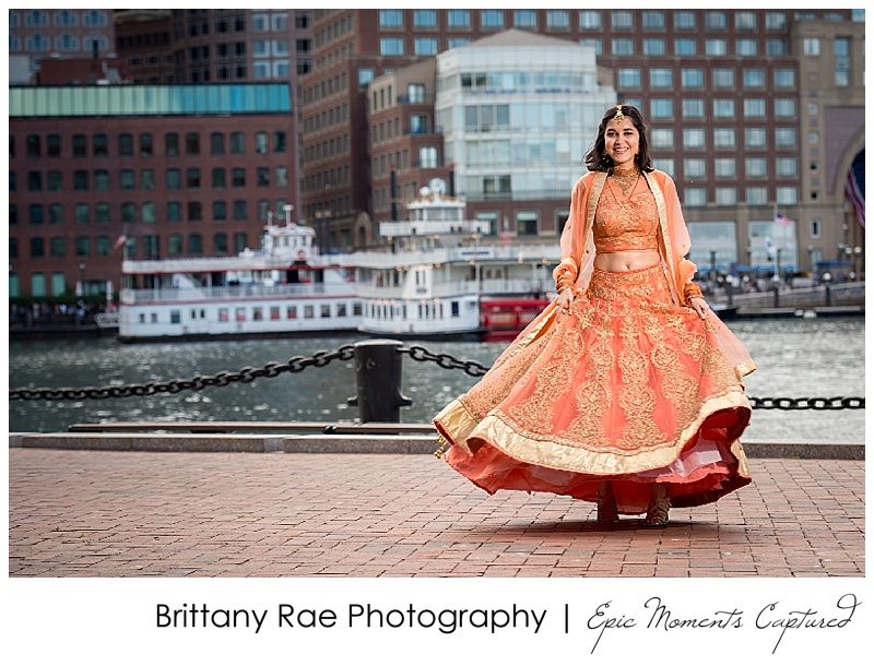 Hindu Wedding on Odyssey in Boston - Boston Skyline Bride