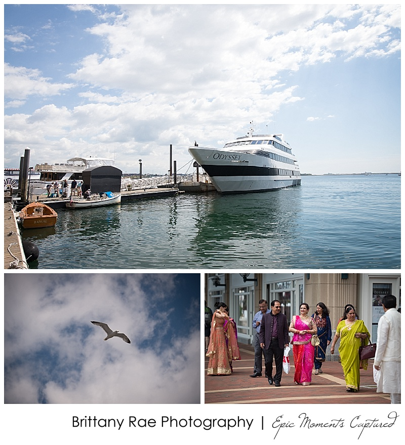 Hindu Wedding on Odyssey in Boston - Odyssey Boat Details