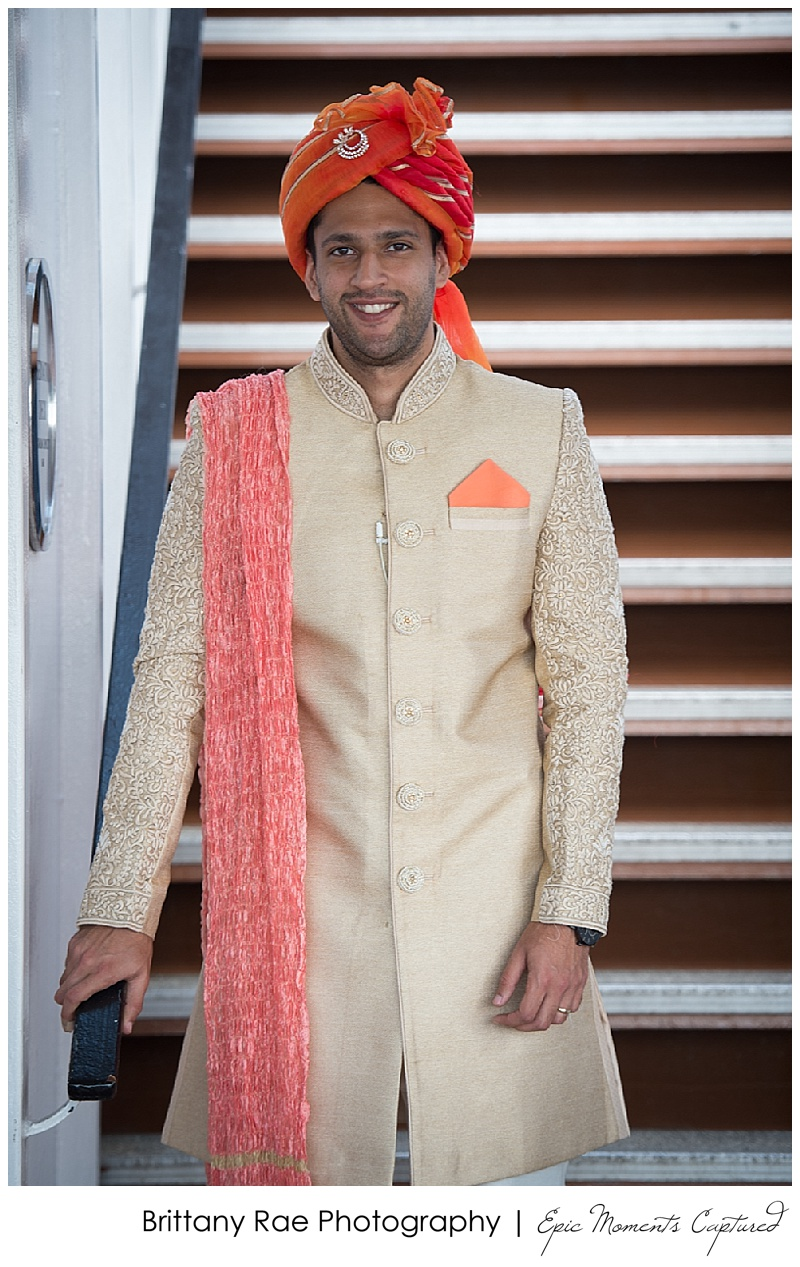 Hindu Wedding on Odyssey in Boston - Hindu Groom