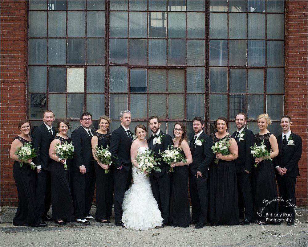 Industrial Wedding by Maine Wedding Photographers - 1