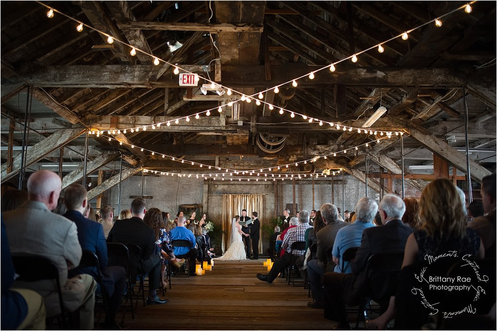 Industrial Wedding by Maine Wedding Photographers - 1