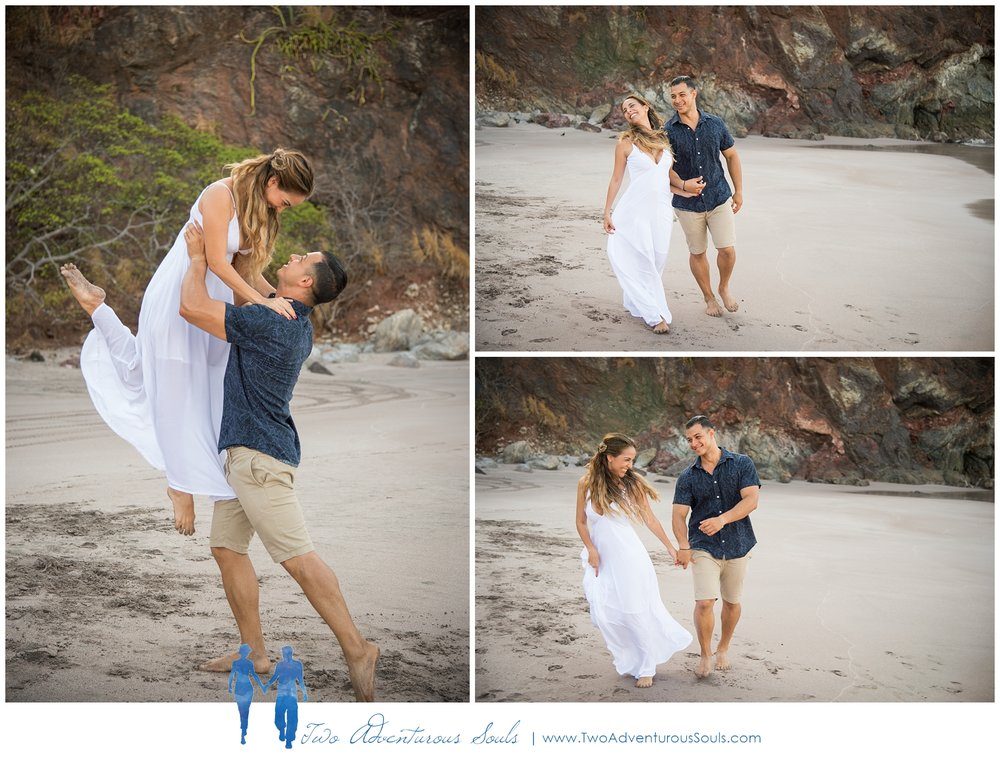 Engagement session in Costa Rica, Playa Minas, Costa Rica Wedding Photographers - Beach Engagement Session