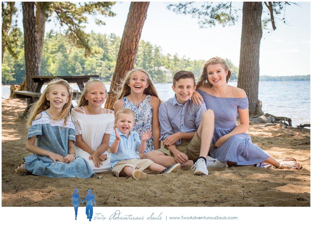 Sebago Lake Family Portraits, Sebago Maine Photographer - Lake Family Portraits