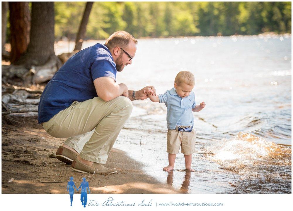 Sebago Lake Family Portraits, Sebago Maine Photographer - Candid Family Portraits