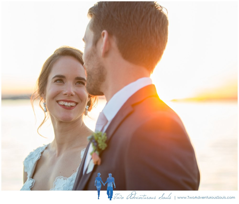Peaks Island Wedding Photographers, Harborview at Jones Landing wedding, Portland Maine, Two Adventurous Souls_Wedding Sunset Portraits