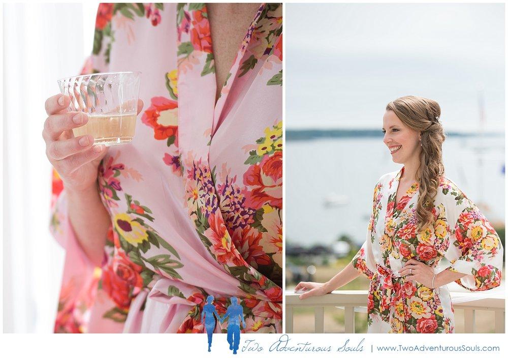 Woodlands Country Club Wedding, Maine Wedding Photographers_Bridal robes