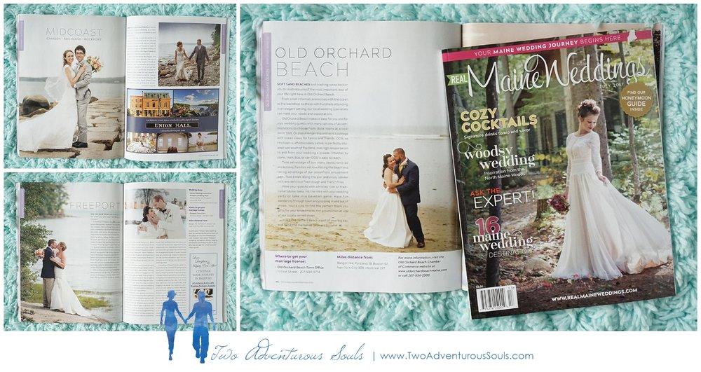 Real Maine Weddings Magazine, Maine Wedding Photographers - 1
