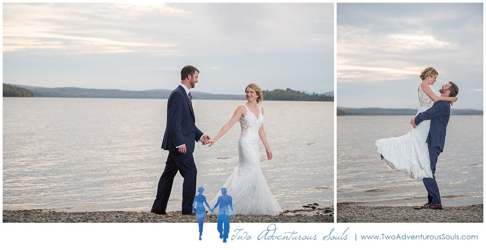 Loon Lodge Wedding, Rangeley Maine, Fall Wedding -