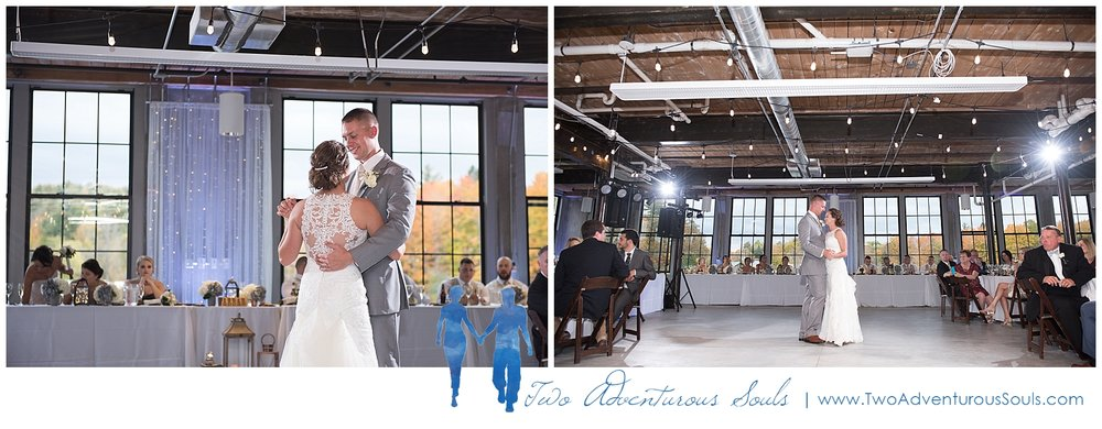 The Mill at Dover Foxcroft Wedding, Industrial Wedding, Maine Wedding