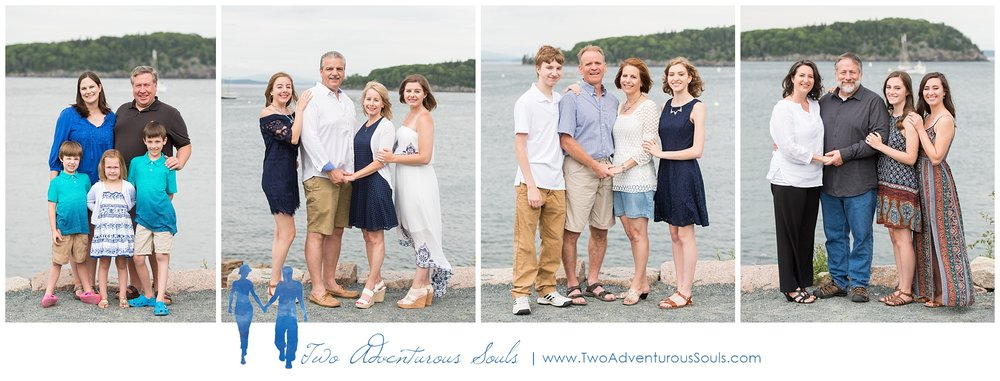 Bar Harbor Family Portraits, Bar Harbor Maine -