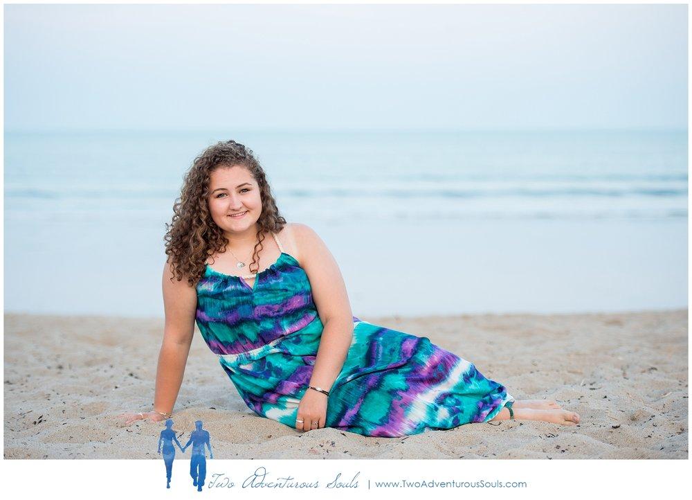 Maine High School Senior Photographer, Ocean Park Senior Portraits -
