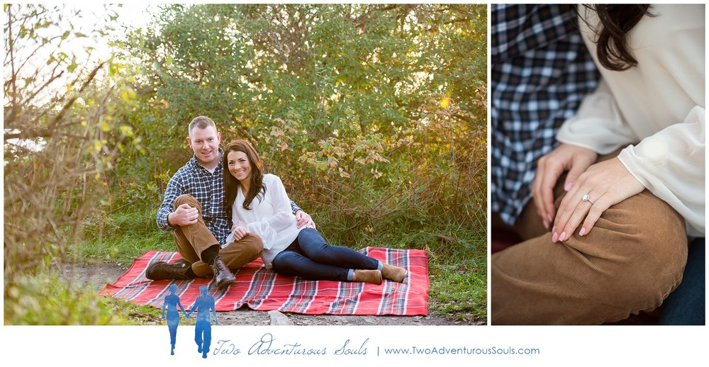 Kettle Cove Engagement Session, Cape Elizabeth, Maine Wedding Photographers -