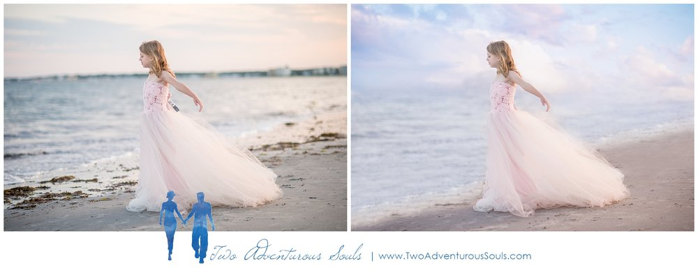 Fantasy and Fine Art Photography, Scarborough maine Photographer - Pine Point Beach Ballerina