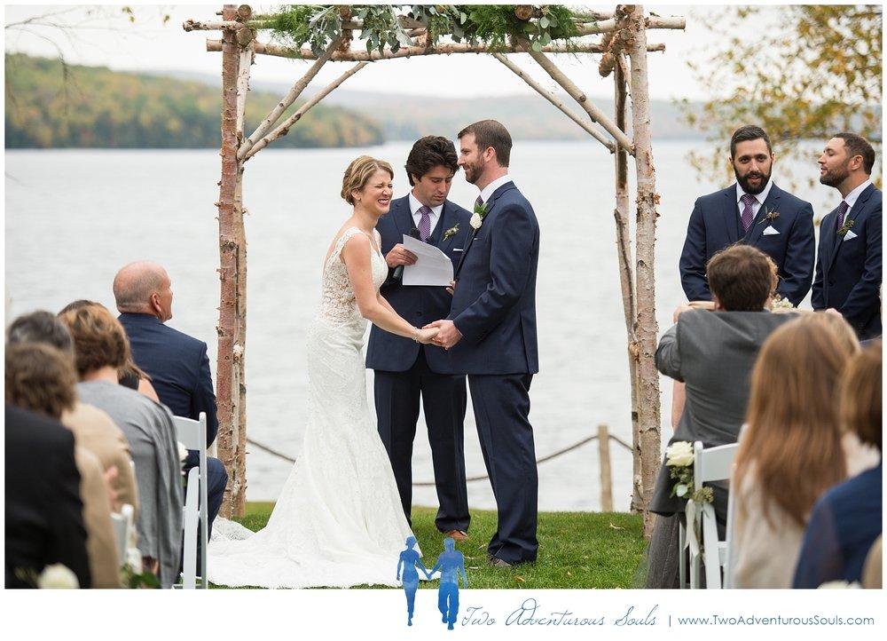 Maine Wedding Photographers, Destination Wedding Photographers - Loon Lodge Rangeley Wedding Photographers