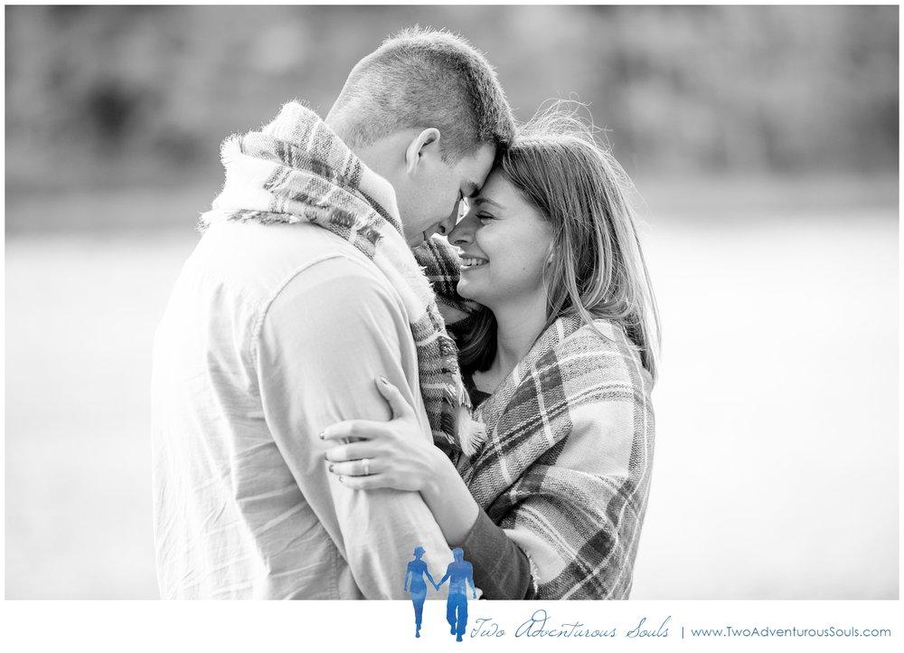 Cathedral Ledge Engagement - New Hampshire Wedding Photographers - Echo Lake