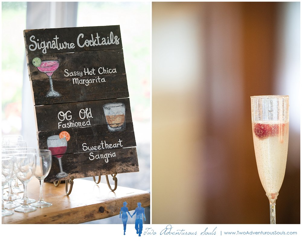 Dexter's Inn Wedding, New Hampshire Wedding Photographers_Signature Wedding Drinks