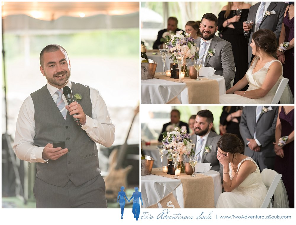 Dexter's Inn Wedding, New Hampshire Wedding Photographers_Wedding Speeches