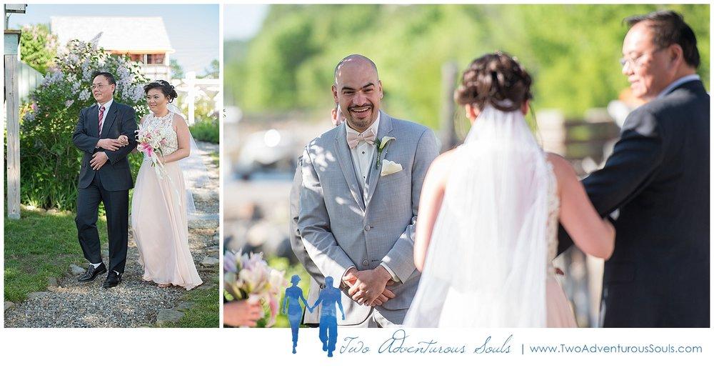 Harborview at Jones Landing Wedding by Maine Wedding Photographers - 22