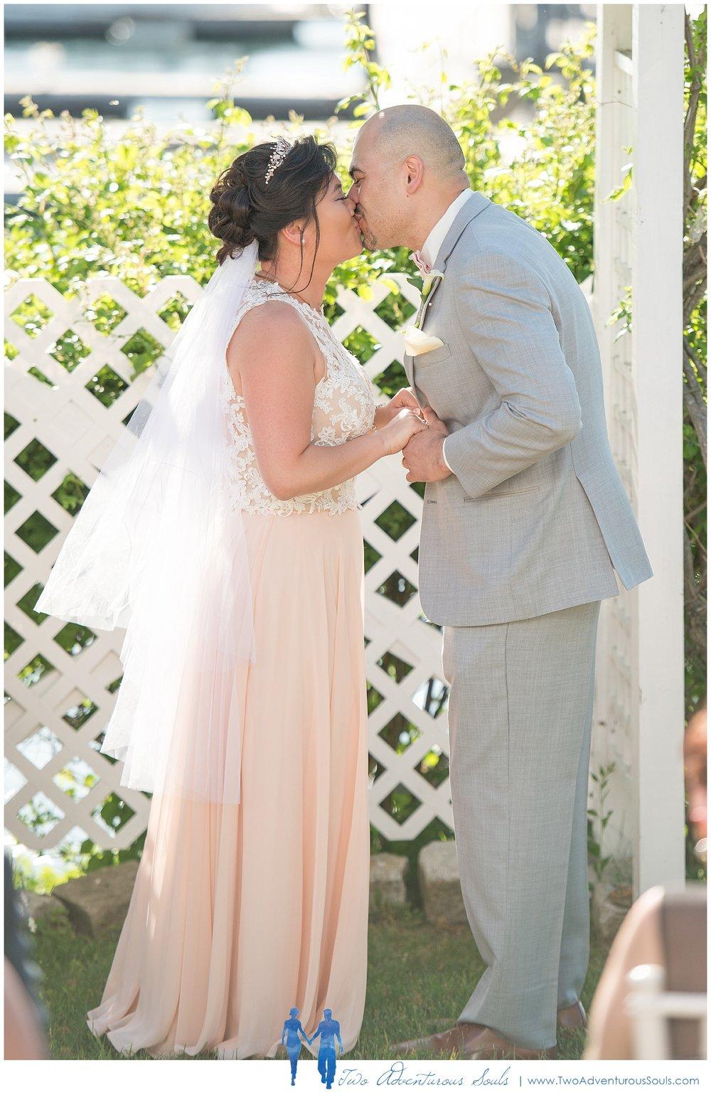 Harborview at Jones Landing Wedding by Maine Wedding Photographers - Peaks Island Wedding - 26
