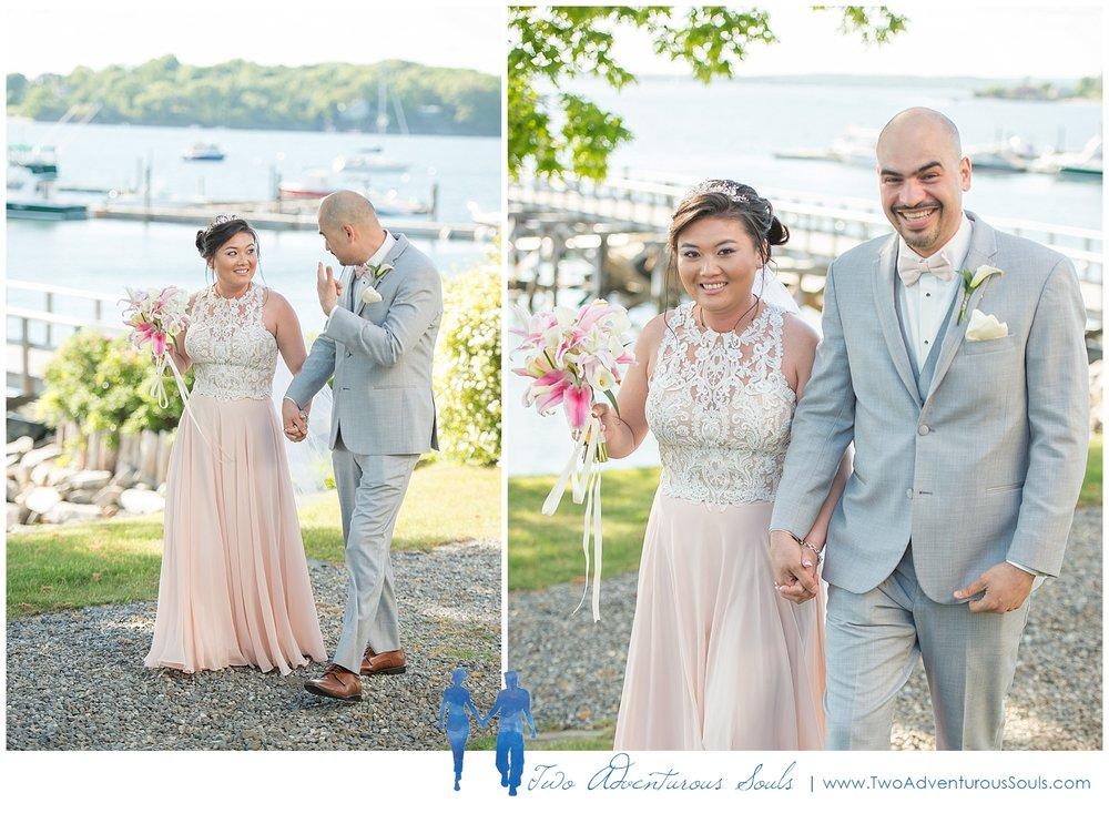 Harborview at Jones Landing Wedding by Maine Wedding Photographers - Peaks Island Ceremony - 27