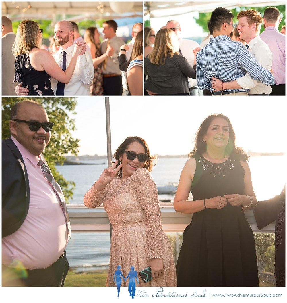 Harborview at Jones Landing Wedding by Maine Wedding Photographers - 37