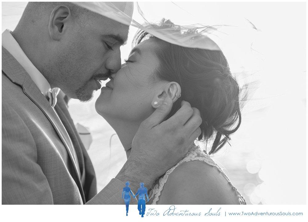Harborview at Jones Landing Wedding by Maine Wedding Photographers - Romantic Wedding Portrait - 40
