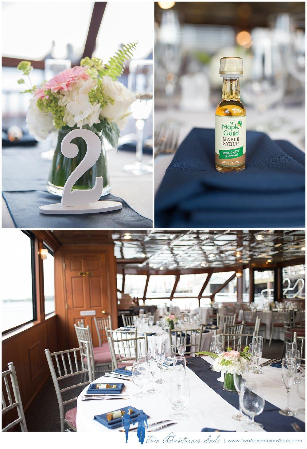Seaport Elite Yacht Wedding, Boston Wedding Photographers, Two Adventurous Souls_Reception Details