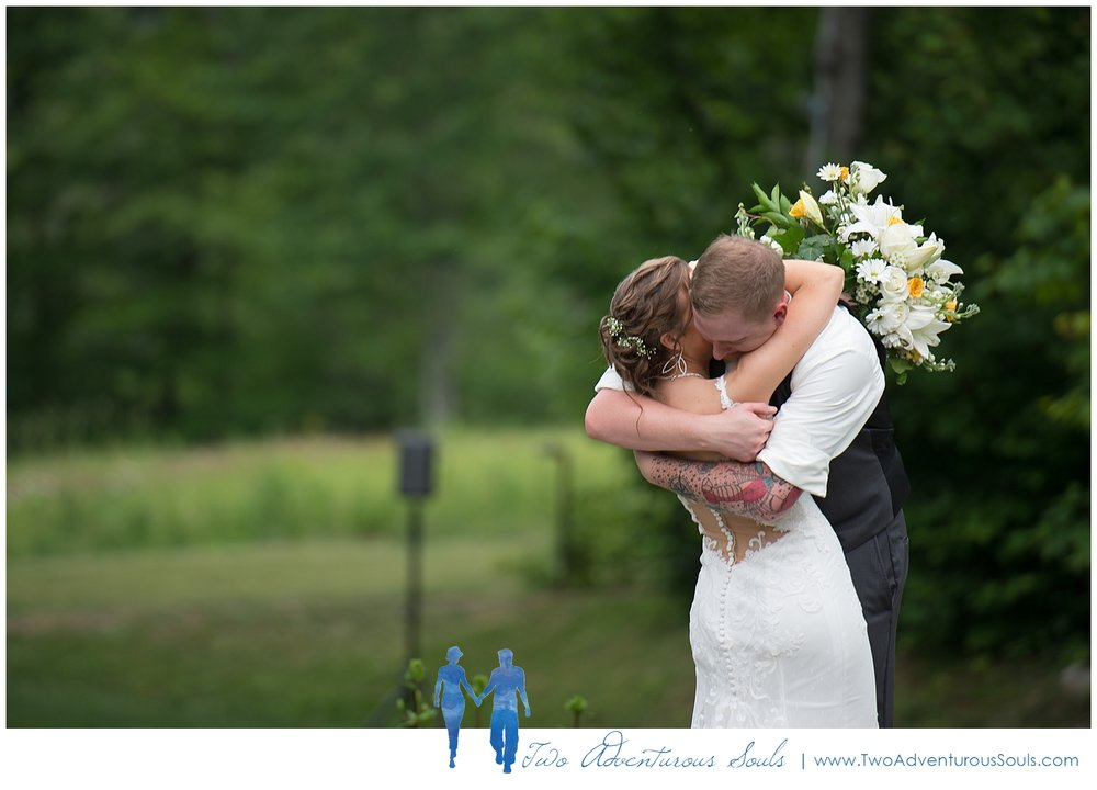 Sunday River Wedding, Maine Wedding Photographers - First Look at Jordan Hotel