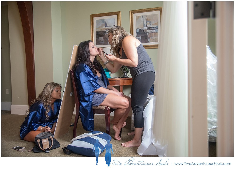 The Landing at Pine Point Wedding by Scarborough Maine Wedding Photographers - Bridal Makeup