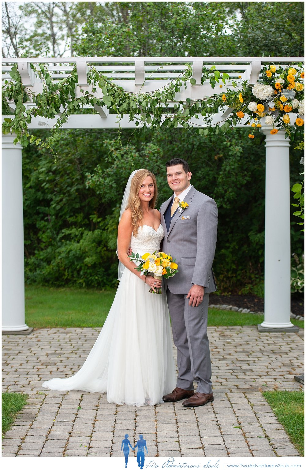 The Landing at Pine Point Wedding by Scarborough Maine Wedding Photographers - Yellow Wedding
