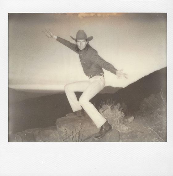 "Sunset Cowboy   Print 15"" x 15""  $150"
