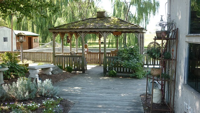 gazebo outdoor space