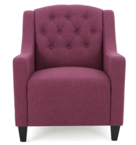 dark fuchsia chair
