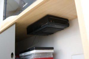 media room storage