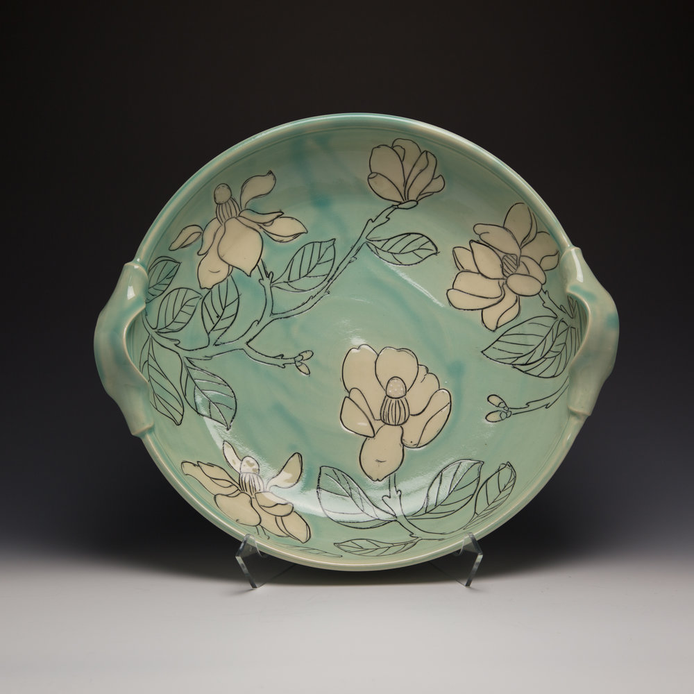 Maria Andrade Troya Pottery CURVE banner MagnoliaPlatter image 1 you chose.jpg