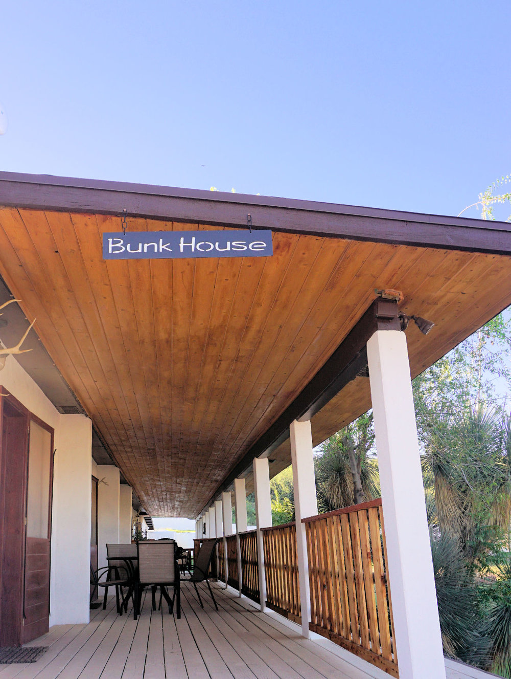 Bunk house sign and front porch.jpg