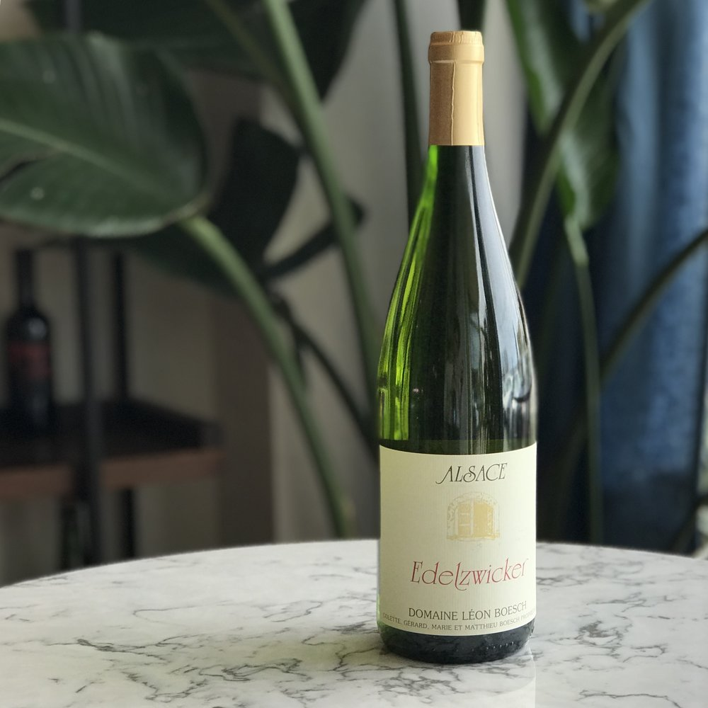 Edelzwicker Alsace Blanc - Aromatic! Floral and spicy. Juicy, lively, rich, ripe and thirst quenching. Vibrant minerality and crisp acidity. Certified biodynamic, organic, sustainable and vegan.