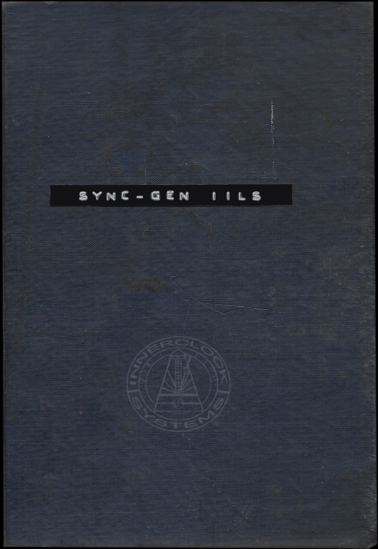 Sync-Gen IILS Operation Manual