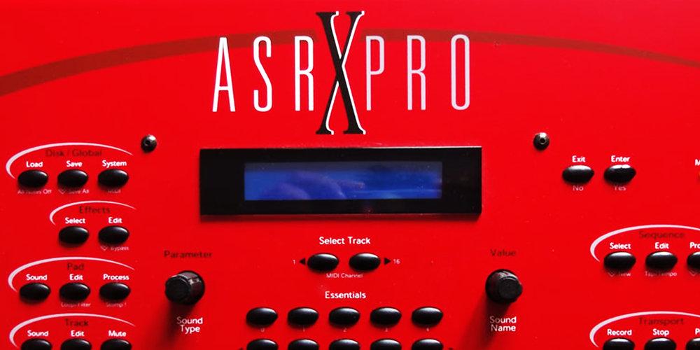 Ensoniq - ASR-X PRO     Sync Master    > Audio Out Jitter - 234 samples (4.87ms)