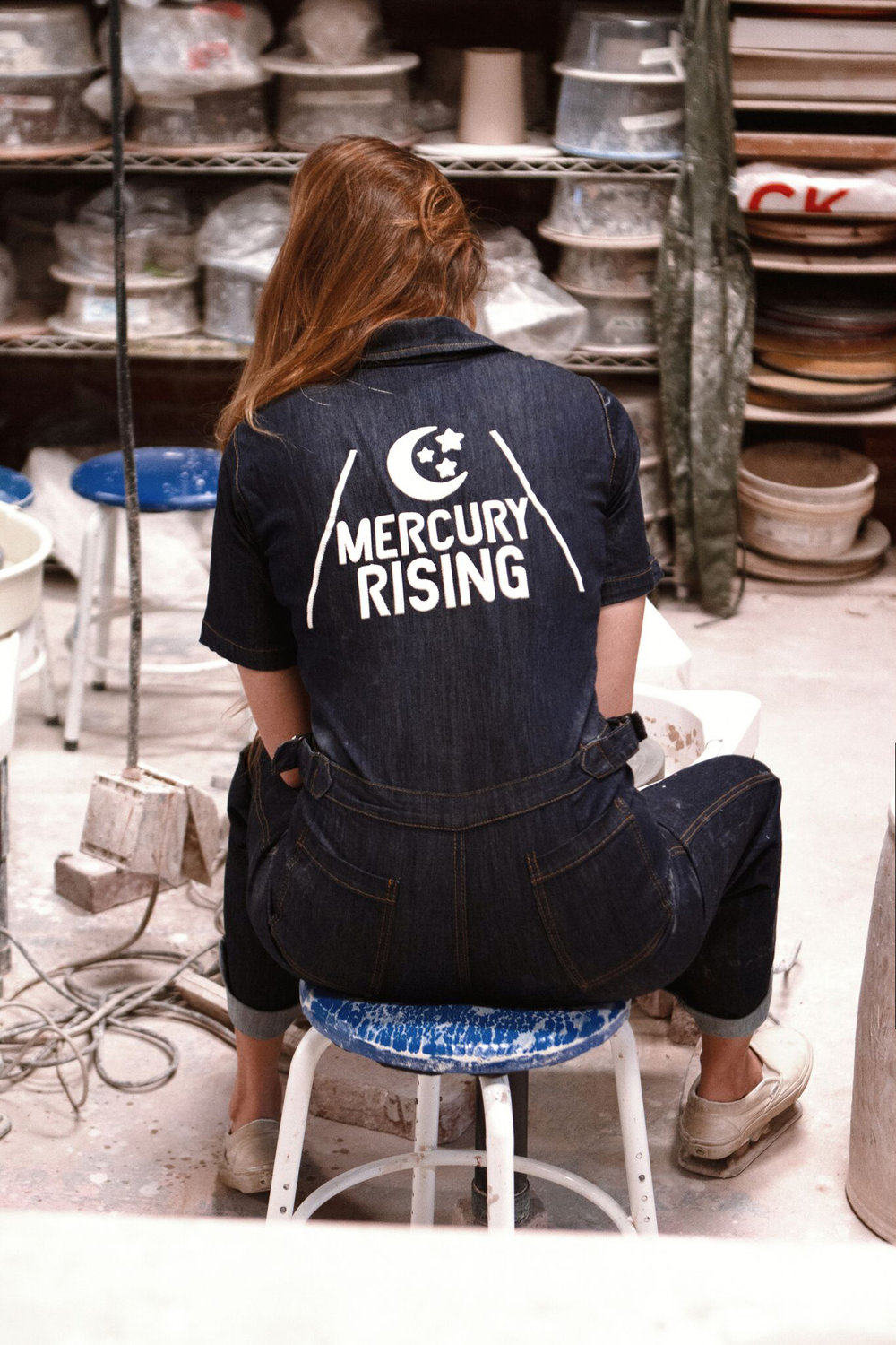 Mercury Rising Coveralls ~ Denim