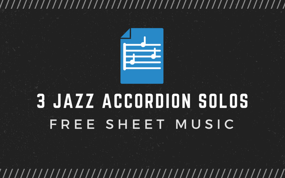 3 accordion masters solo over the same song. - Learn from the similarities and differences of these three jazz accordion masters.