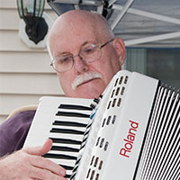 """""""Taking online lessons with Dallas Vietty has been very helpful in learning to play the accordion. At almost 67 years old, and having no music background, taking online lessons with Dallas has been extremely helpful to improving on my playing ability. I highly recommend taking lessons with Dallas."""" - - DON FROM NEW HAMPSHIRE"""