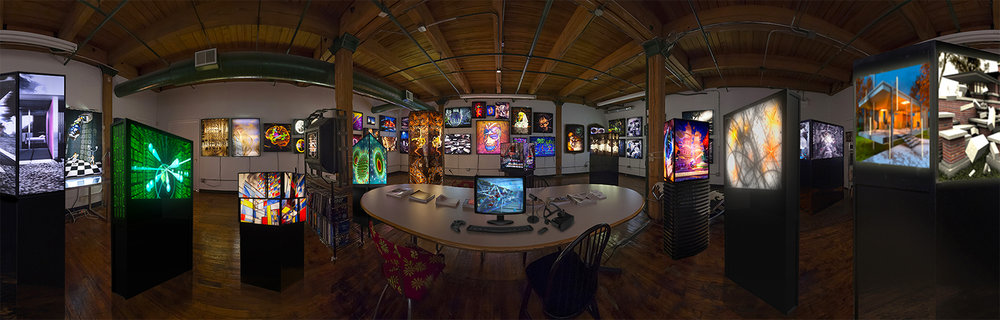 (art)n studio: A Panorama View Digital Photo by James Prinz Photography.  Courtesy of Ellen Sandor.