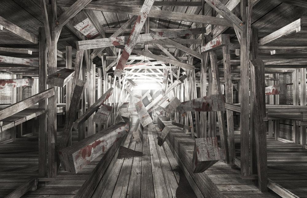 Deconstructing the Barracks: Auschwitz-Birkenau, 2011