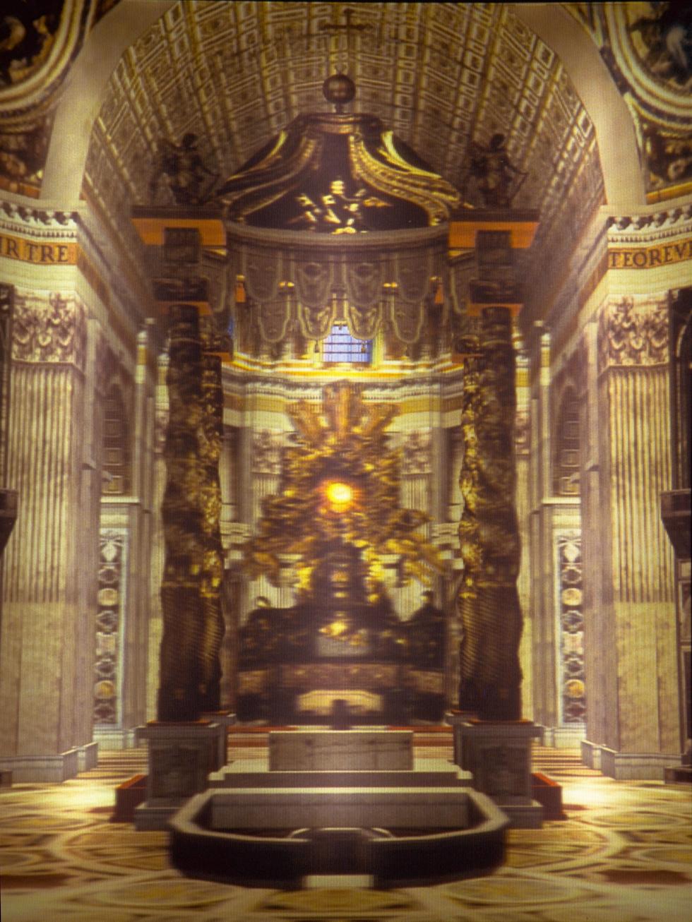 Le Basiliche di San Pietro External Façade, 1995